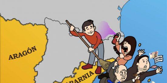 La soberana hostia del inventor de Tabarnia a los 'indepes' que les hace perder el norte