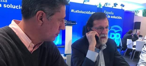 Unos 'indepes' intentan quemar a una familia por colgar la bandera española del balcón