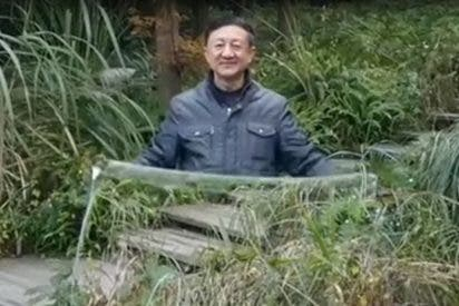 [VIDEO] Esta 'capa de invisibilidad' desconcierta a los usuarios de las redes sociales en China