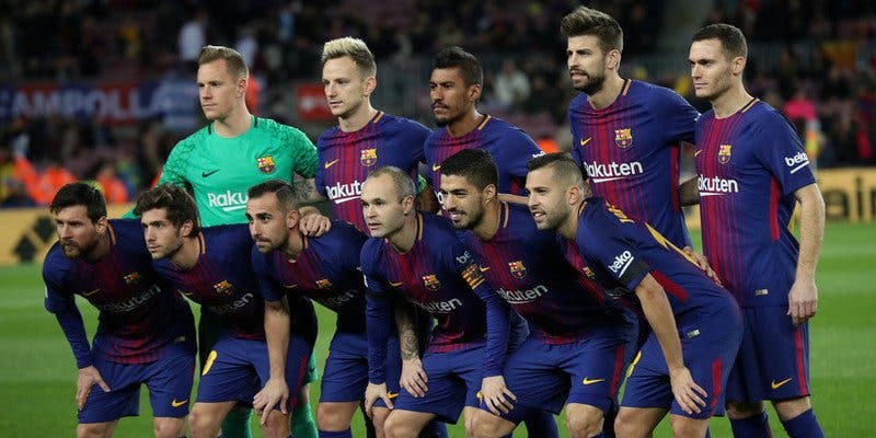 El Barça intenta 'epatar' al Real Madrid antes del clásico de la Liga española
