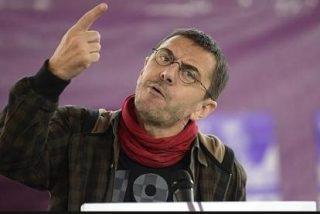 Juan Carlos Monedero se cabrea como una mona amazónica ante la intención de Sánchez de dejar a Podemos compuesto y sin ministerios