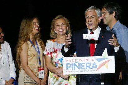 El derechista Sebastián Piñera gana las elecciones presidenciales en Chile