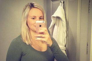 Esta bloguera revoluciona la Red al publicar una foto suya en pañales tras dar a luz