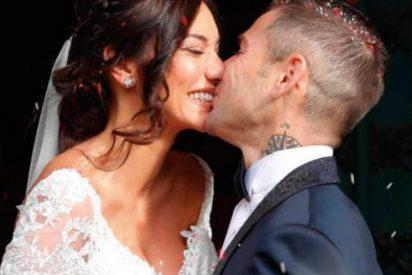 Así fue la espectacular boda del piloto Álvaro Bautista y la modelo venezolana Grace Barroso
