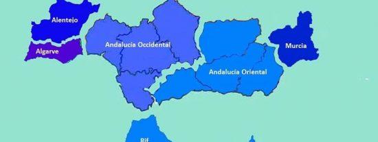 Proclaman virtualmente la República andaluza que incluye a Murcia, parte de Portugal y Marruecos