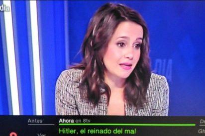 El acojonante rótulo informativo que ponen a Inés Arrimadas en una televisión catalana