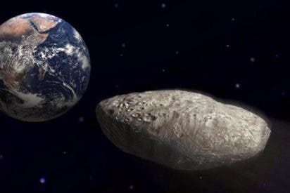 El pequeño asteroide descubierto en Navidad pasa hoy entre la Tierra y la Luna