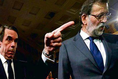 Aznar le 'mete el dedo en el ojo' a Rajoy: exige explicaciones sobre Cataluña y aplaude a Arrimadas