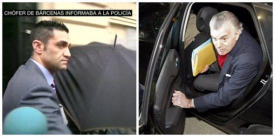 El carreron policial del chófer que fue clave en el 'caso Bárcenas'