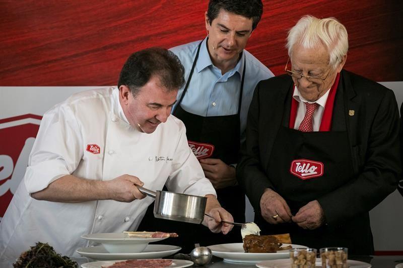 Martín Berasategui preparará la cena de Nochebuena de los sin techo de Mensajeros de la Paz