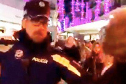 [VIDEO] La policía de Madrid obliga a una anciana con movilidad reducida a dar toda la vuelta por orden de Carmena