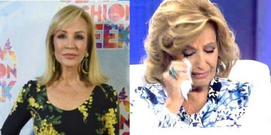 """Carmen Lomana machaca a María Teresa Campos: """"¡Es ridícula!"""""""