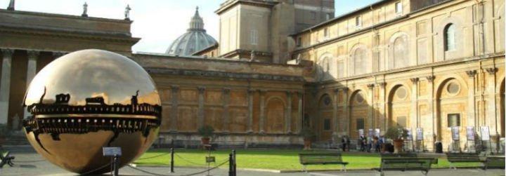 Roma restaura las paredes de los Museos Vaticanos... con leche