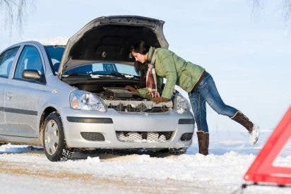 Las 7 averías del coche más frecuentes en invierno y lo que te van a costar