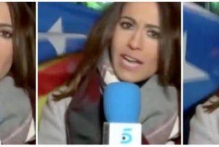 Los independentistas boicotean el directo de informativos Telecinco desde Bruselas