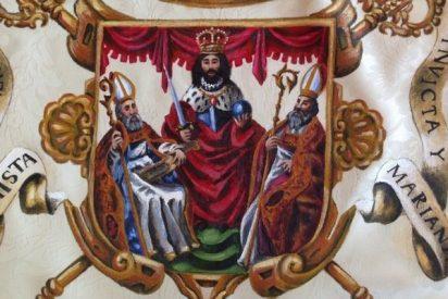 Los mamarrachos de Podemos quieren quitar la espada a San Fernando del escudo de Sevilla por 'belicista'