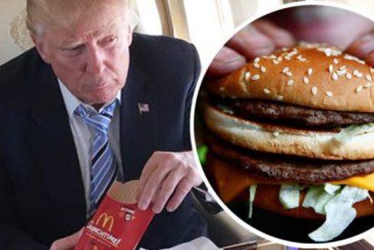 ¿Sabes cuál es el bestial menú que pide Donald Trump cada vez que come de McDonald's?