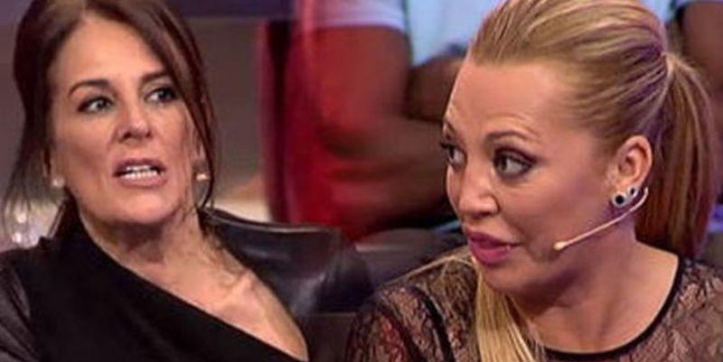 Belén Esteban sacude una 'paliza' a la periodista a Ángela Portero