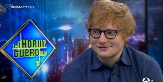 'El Hormiguero': ¡Ed Sheeran le tiró un palo de golf a Justin Bieber!