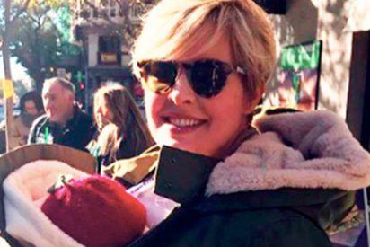El gran susto de Tania Llasera con su pequeña hija