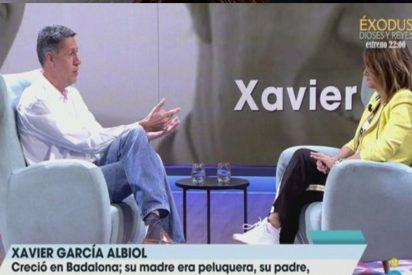 El patinazo de Xavier García Albiol durante su entrevista con Toñi Moreno que no le perdona la red