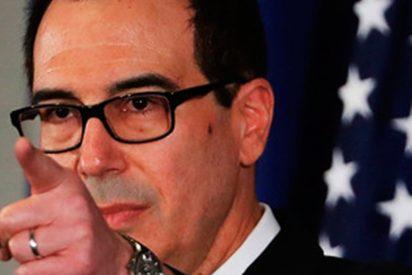 El secretario del Tesoro de EEUU recibe una caja con mierda como regalo de Navidad