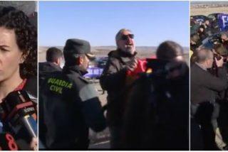 """La contradictoria realidad del separatismo: las """"fuerzas de ocupación"""" salvan a los provocadores de Esquerra de ser linchados en Estremera"""