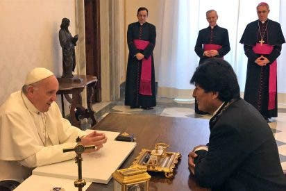 Evo y Francisco evitan hablar del conflicto entre Bolivia y Chile por la salida al mar