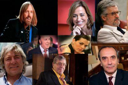 Los 40 famosos que se fueron al Cielo o a Dios sabe dónde en 2017