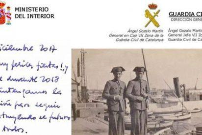 La descomunal felicitación navideña de la Guardia Civil en Cataluña que deja temblando a los separatistas