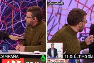 Ferreras y Sardá revuelcan al disparatado portavoz de la CUP y su cantinela de que vivimos en un Estado más represivo que en el tardofranquismo