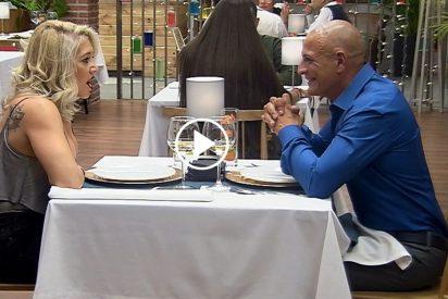 'First Dates': ¡Extraña forma de ligar!: Jordi cuenta a Gabriela que en 2002 estuvo secuestrado