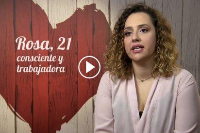 'First Dates': Rosa se compara con Angelina Jolie, pero no por lo que piensas