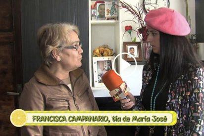 La tía de María José duda de la enfermedad de su sobrina