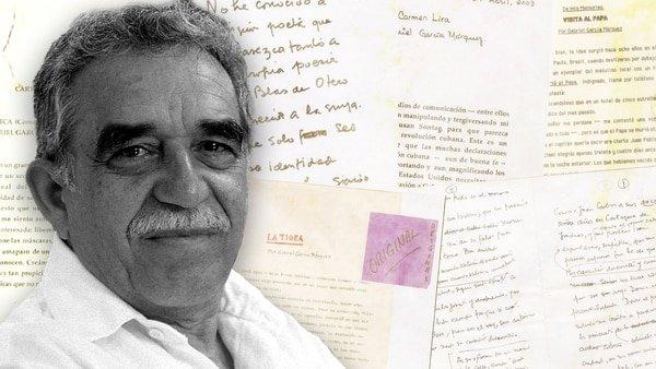 Las diez joyas halladas en el archivo digitalizado de Gabriel García Márquez
