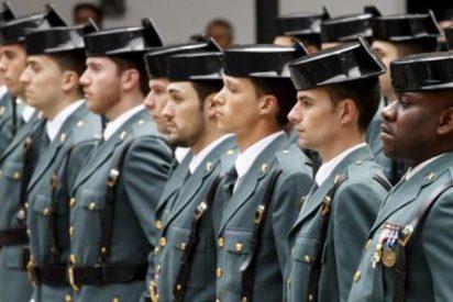 ¿De dónde son los guardias civiles?
