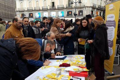Miles de madrileños se vuelcan con la iniciativa 'Hablamos Español' para que ningún hispanohablante sea discriminado por su lengua