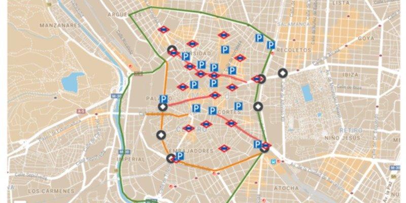Guía para moverte por el centro de Madrid y sobrevivir al cierre de la Gran Vía