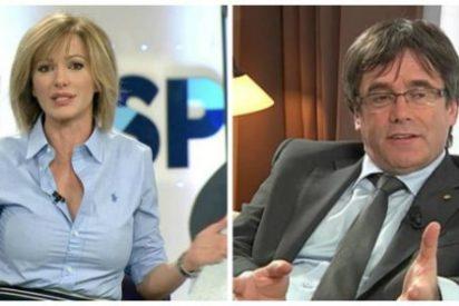 """Griso apalea a Puigdemont por el nuevo boicot a los medios españoles: """"Es un impresentable"""""""
