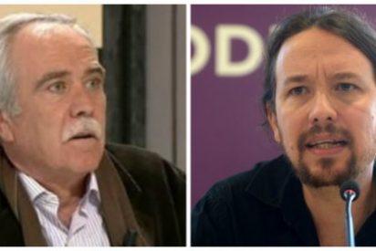 Pérez Henares despelleja a los medios que callan ante el asesinato de Víctor Láinez y le suelta un 'zasca' descomunal a Pablo Iglesias