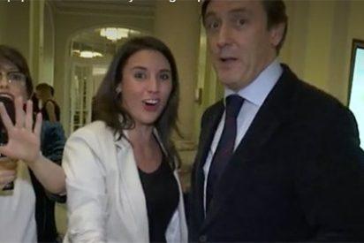 El penoso bailecito de Irene Montero y Rafa Hernando que te hará estremecer