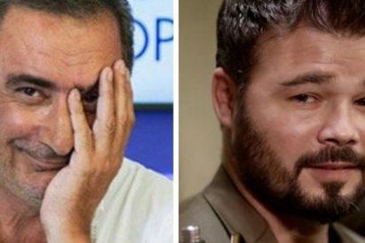 """Herrera """"se parte la caja"""" con Tabarnia al ver cómo Rufián y los 'indepes' """"salen descompuestos"""" en TV"""