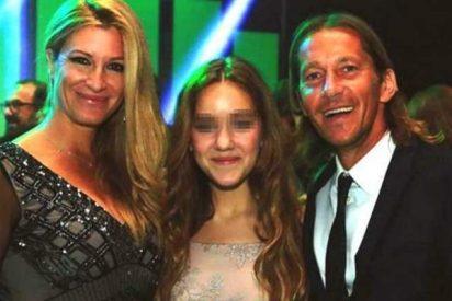 Los jugadores del Real Madrid alucinan con el bombón de hija que tiene Michel Salgado