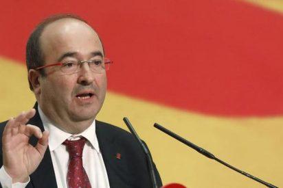 El candidato del PSC siembra dudas entre sus votantes y regala argumentos a los separatistas