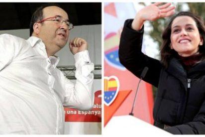 Iceta, el mejor socio de Ciudadanos: cada torpe declaración del bailón del PSC son votos para Arrimadas