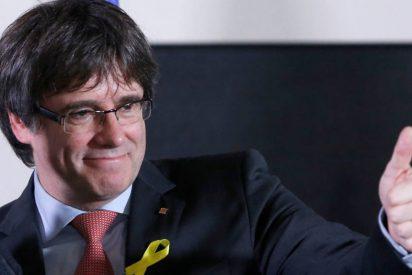 """Exigencias de 'Chulo' Puigdemont tras proclamar: """"la república catalana ha ganado a la monarquía del 155"""""""