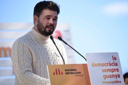 La asquerosa respuesta del miserable Rufián a Borrell que se le atraganta al PSOE