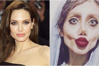 La 'Angelina Jolie iraní' revela la verdad sobre sus espantosas fotos
