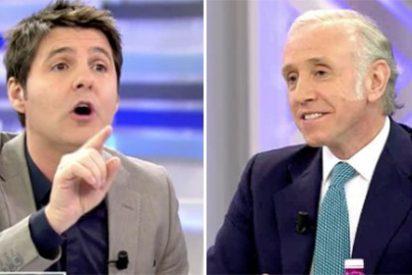 "Eduardo Inda deja por el suelo a Cintora: ""¡Cuando dice salvajadas tu amigo Pablo Iglesias, te callas!"""