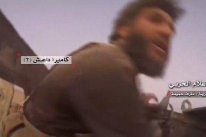 Los angustiosos segundos finales de un grupo de aterrorizados terroristas del ISIS antes de ser abatidos